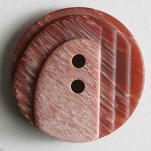 Wine Red Polyester Button