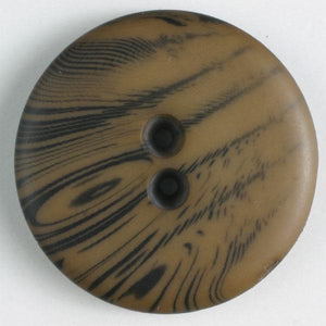 Brown Polyester Button