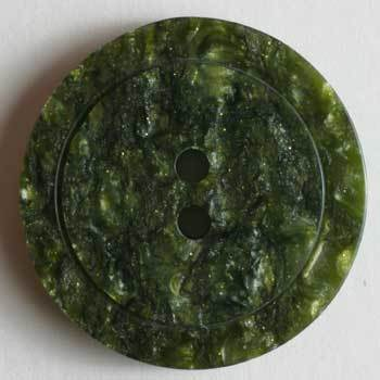 Green Polyester Button