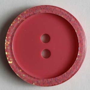 Pink Polyester Button