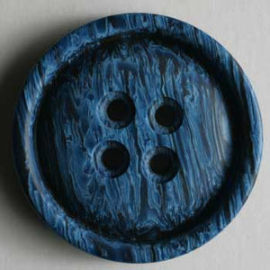 Navy Blue Polyester Button