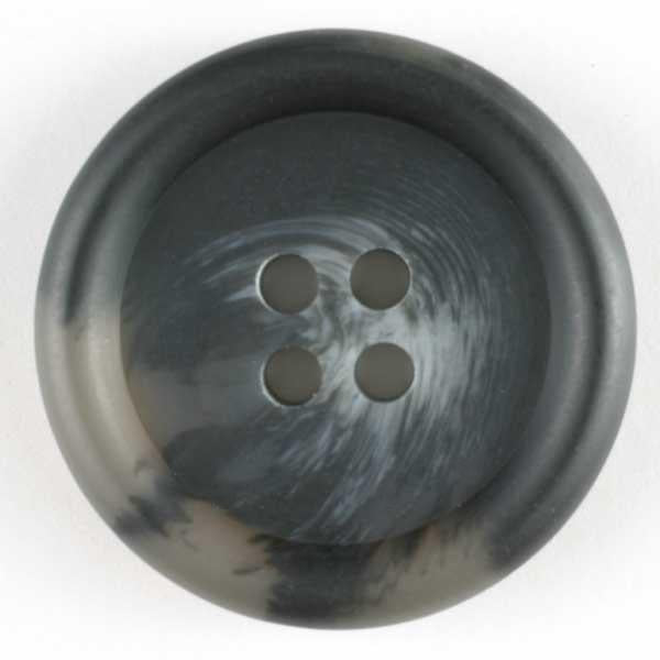 Grey Polyester Button
