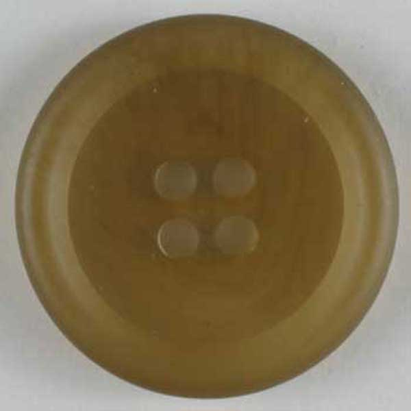 Beige Polyester Button