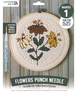 Flowers Punch Needle Kit