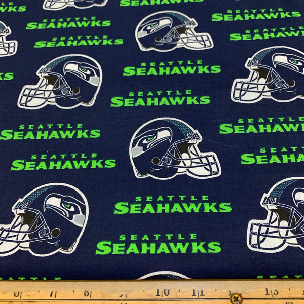 NFL Seattle Seahawks Helmet Cotton Fabric