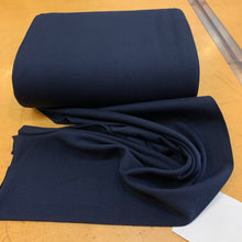 Stretch Ribbing - Navy