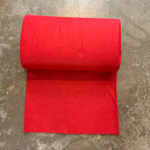 National Nonwovens Wool Rayon Felt - Red 0932