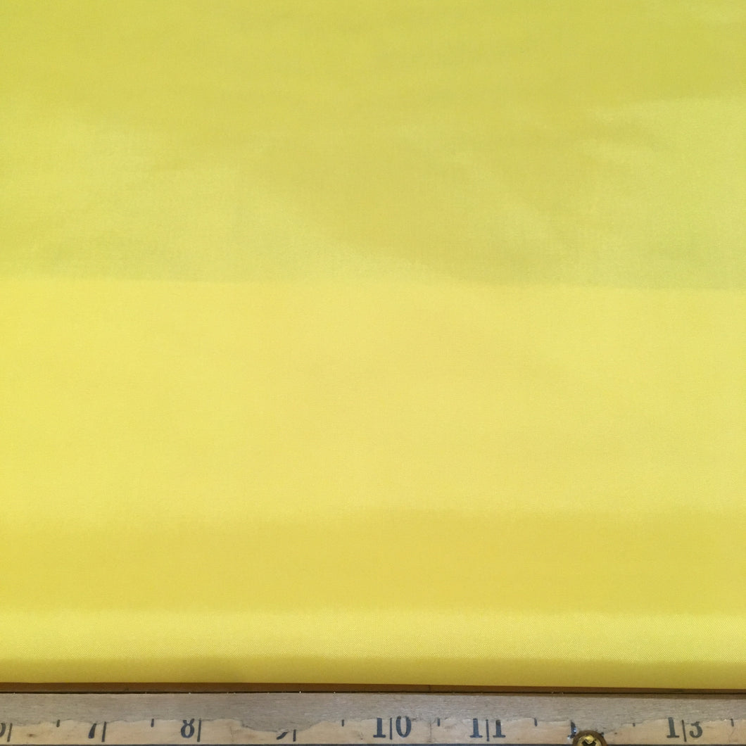 Polyester Lining Fabric - Bright Yellow