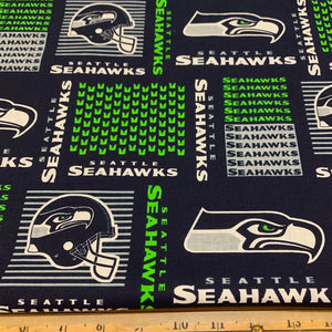 NFL Seattle Seahawks Banner Cotton Fabric