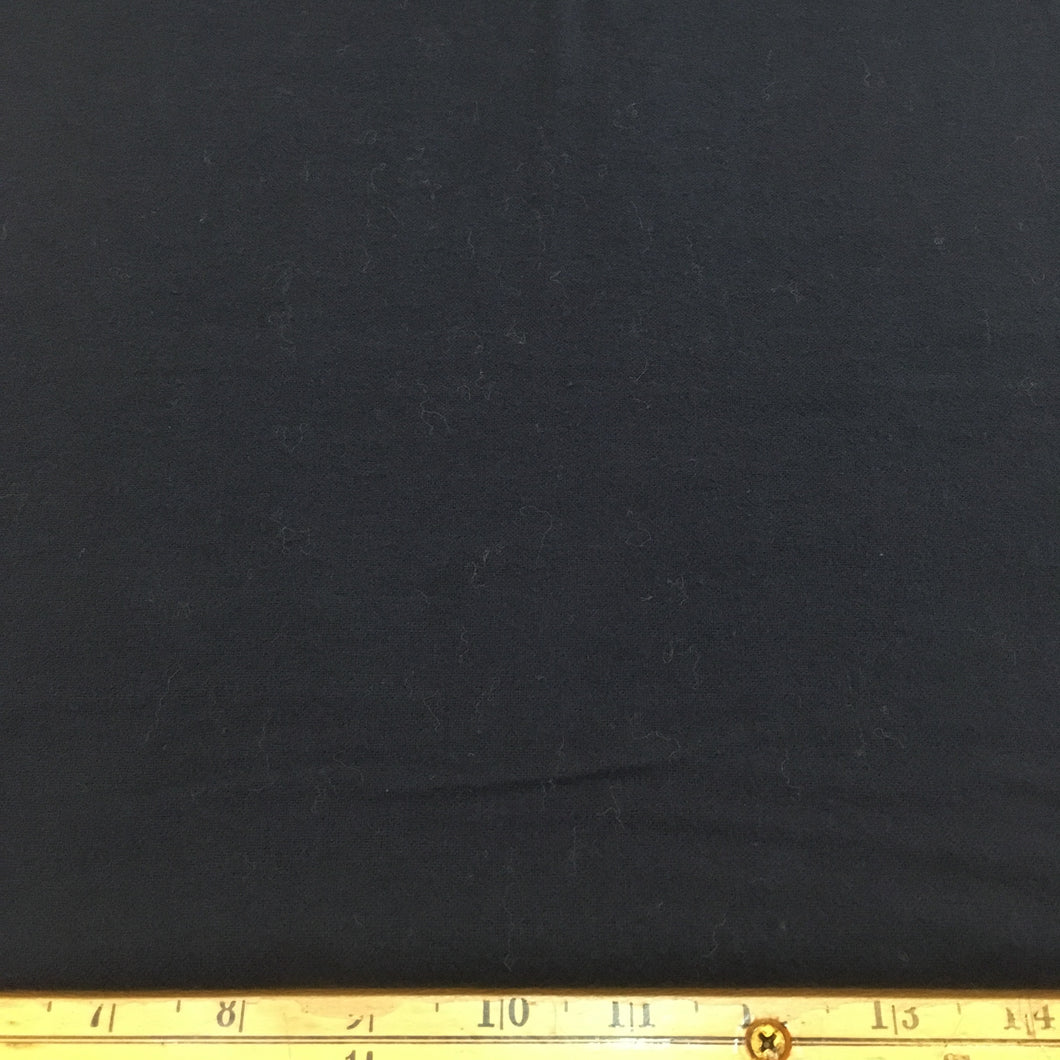 Cotton Flannel Fabric Navy