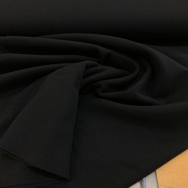 Wool Coating Black