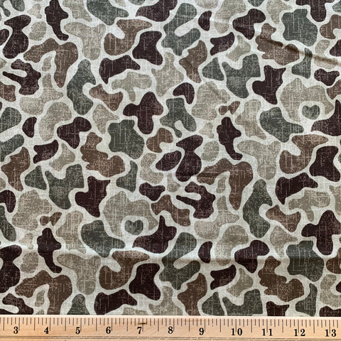 Camouflage Cotton Sheeting Fabric