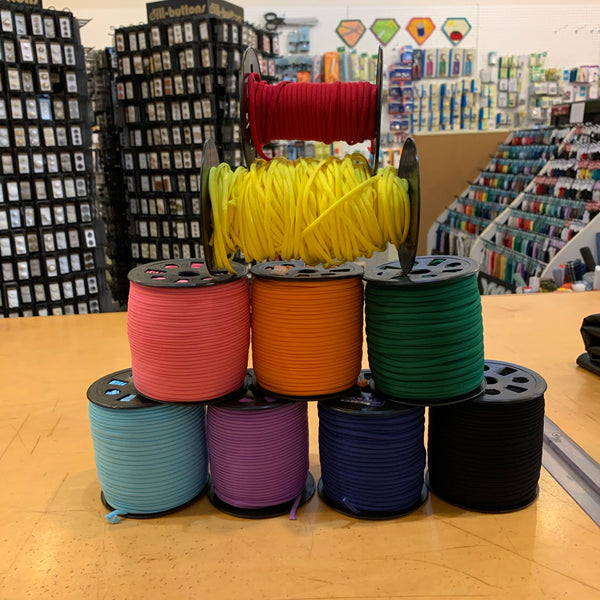 "1/6"" Banded Stretch Elastic"
