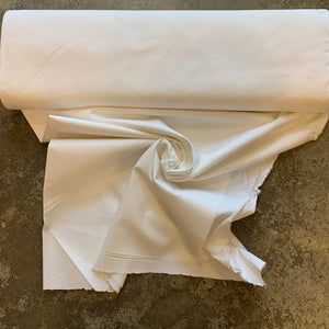Microbrush Twill Fabric - White Gardenia