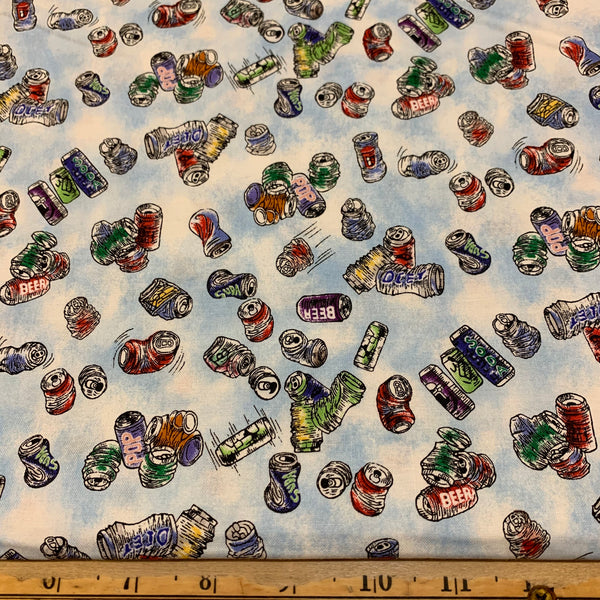 Aluminum Cans Cotton Fabric