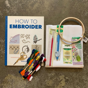 Embroidery Kit - Deluxe