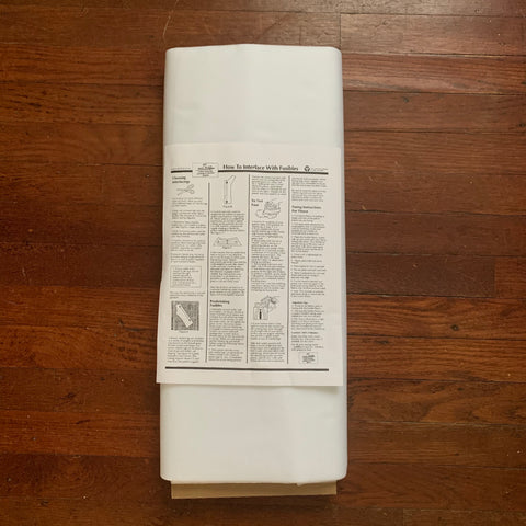 HTC Sheer D'light Featherweight Fusible Interfacing - White 2101-7