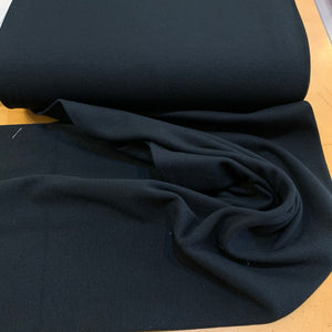 Stretch Ribbing - Black