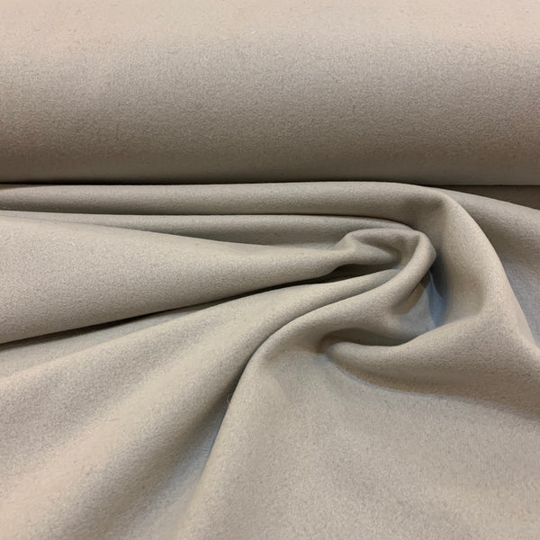 Wool Coating Pale Gray