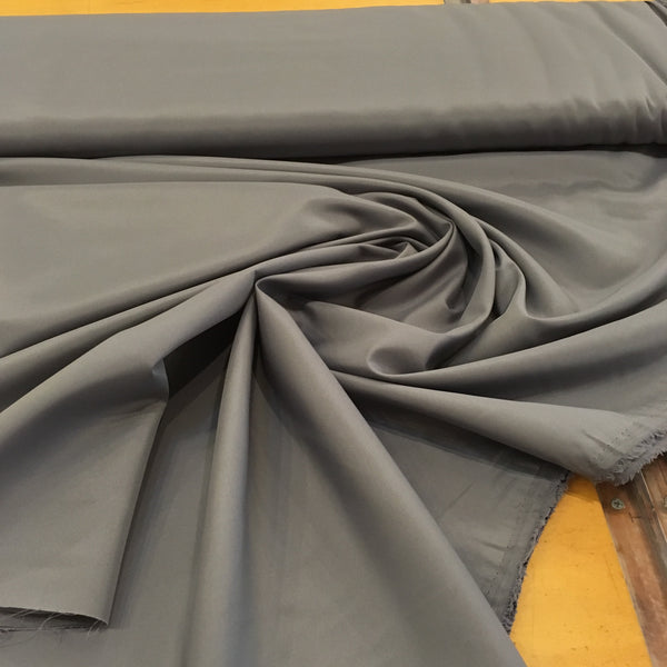 Pongee Polyester Lining - Charcoal