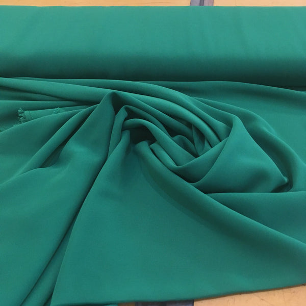 Polyester Chiffon - Jewel Green