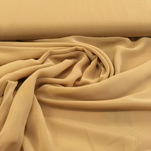 Polyester Chiffon - Antique Gold