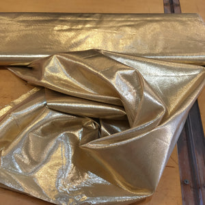 Tissue Lame Fabric - Gold