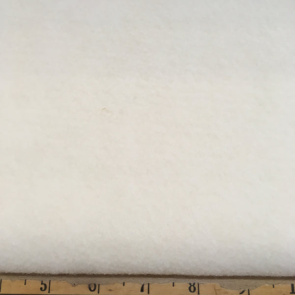 National Nonwovens Wool Rayon Felt - WCF001 White 1100