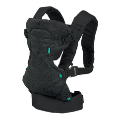Flip Advanced 4-in-1 Convertible Baby Carrier (Black Denim)