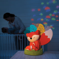 Musical Soother & Night Light Projector