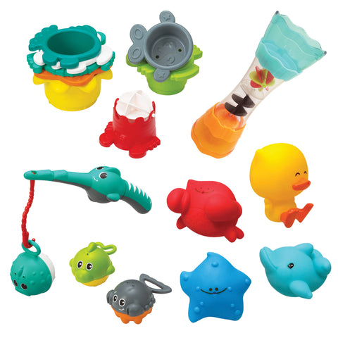 SPLISH & SPLASH BATH PLAY SET
