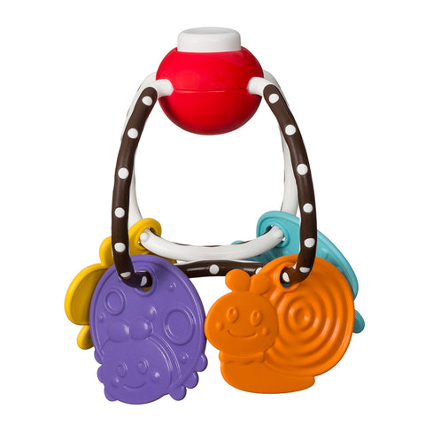 Chew & Clutch Teether Activity Toy™