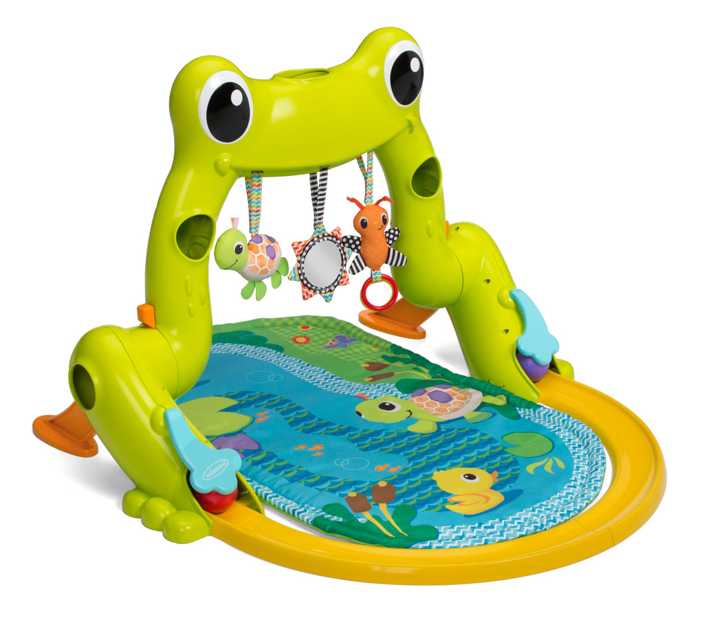 GREAT LEAPS INFANT GYM & BALL ROLLER COASTER™