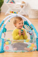 3-IN-1 JUMBO ACTIVITY GYM & BALL PIT