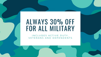 NEW BENEFIT ALERT: Military Discount Now Available for US-Based Service Members, Their Dependents and Veterans