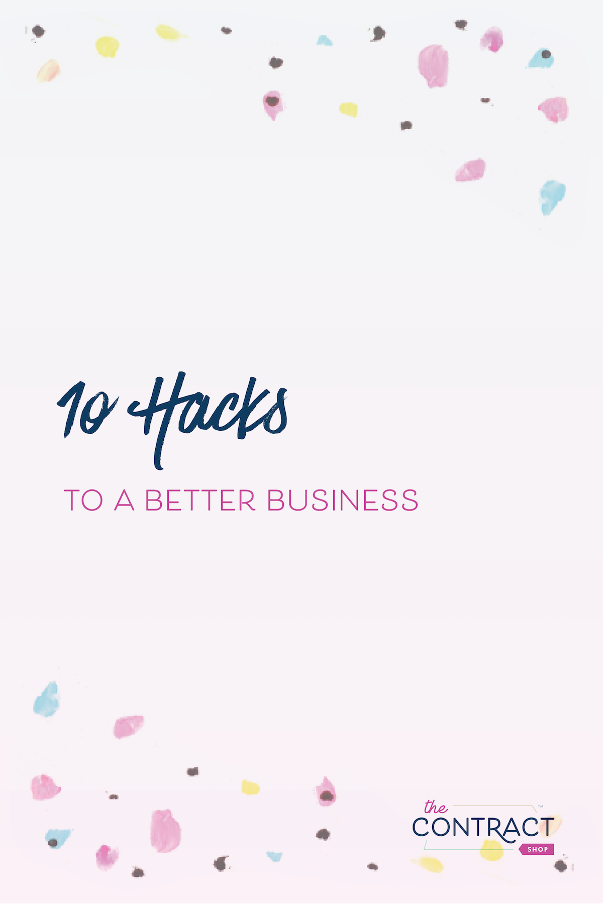 Whether you're a new business owner or a seasoned one, you will have a slow season. Here are 10 hacks to a better business, so you can get more clients and be more focused. #smallbusiness #creative #entrepreneur