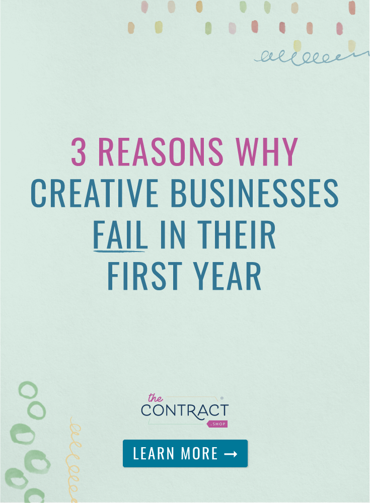 why creative businesses fail