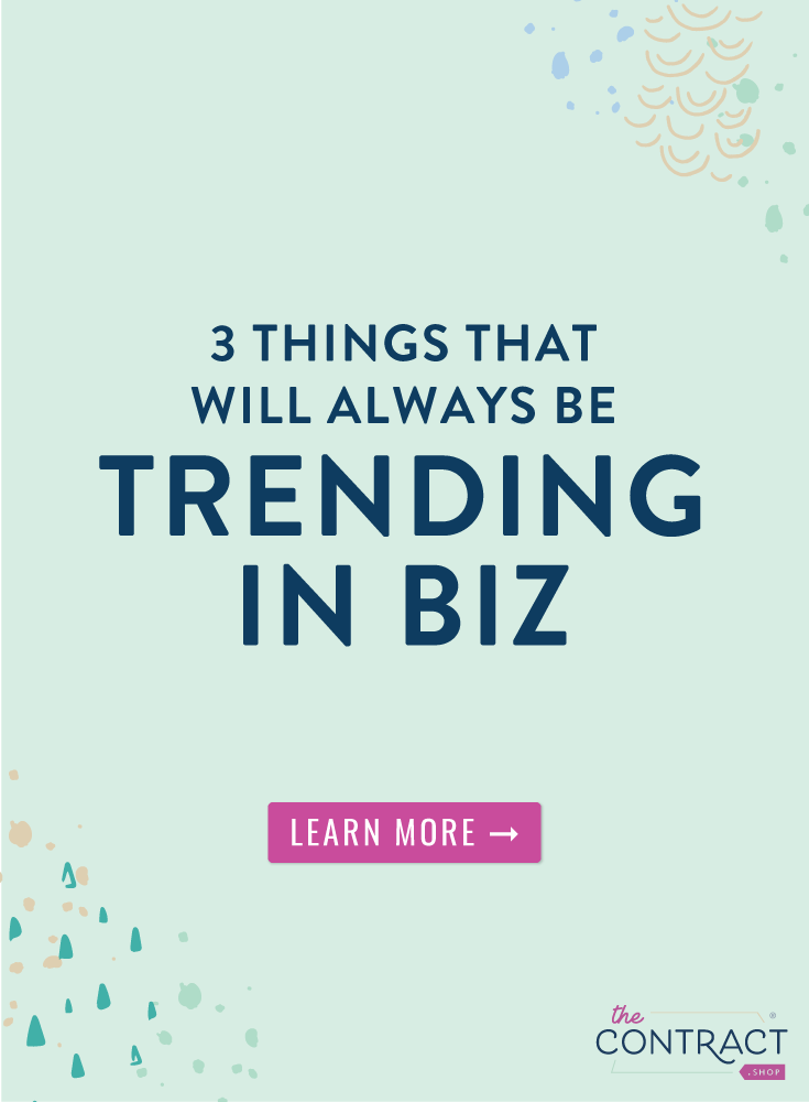 "There's a few business trends that will forever and always be relevant. In fact – implementing these principles is about more than looking ""modish"" – they can be vital to running a healthy, streamlined business. So if you're feeling like you're falling a little behind the times, check out these three ""trends"" to see if you need to do a business mini-makeover. 