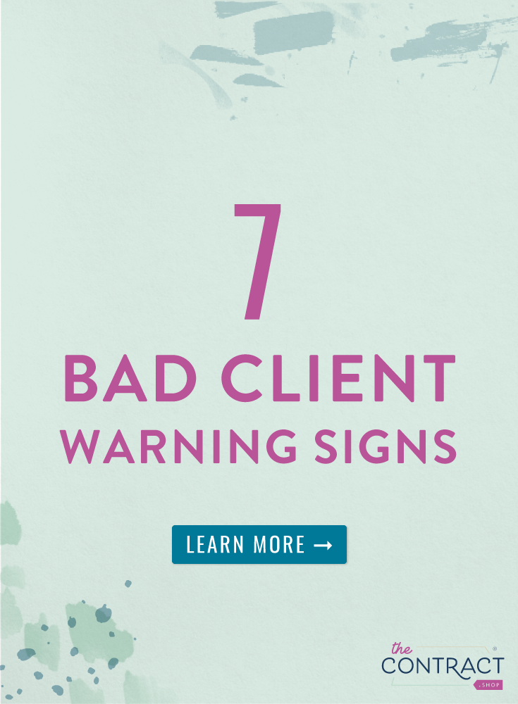 7 Bad Client Warning Signs (and What You Can Do About It)