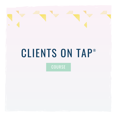 clients on tap course