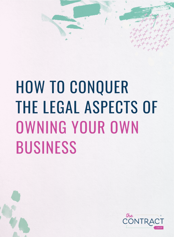 legal things you should know as a small business owner
