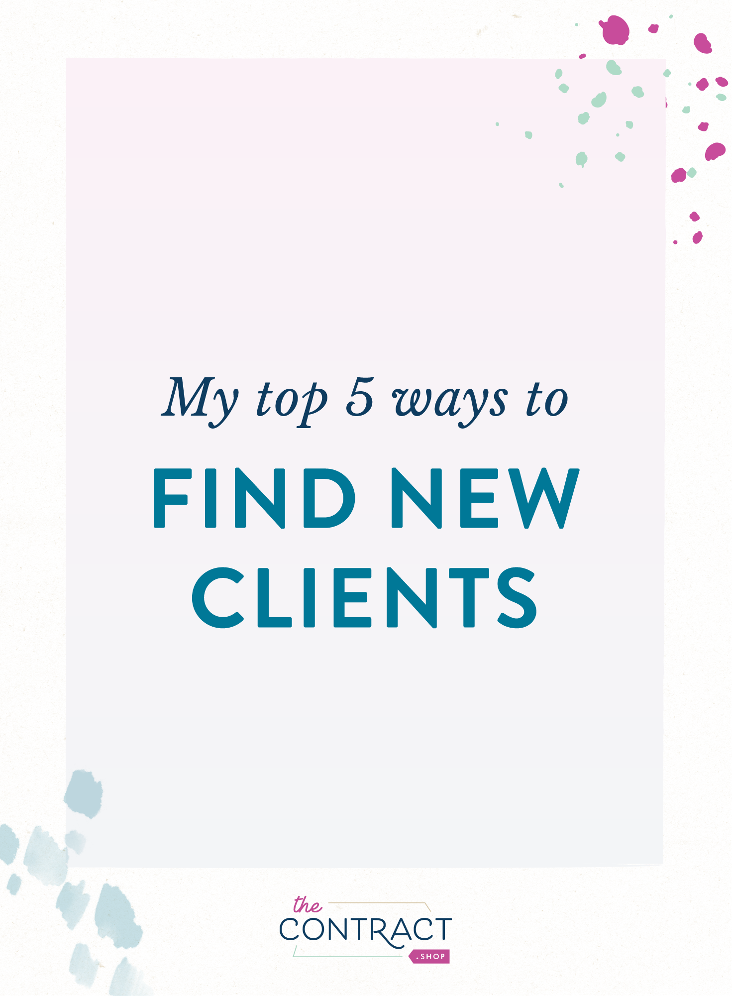 How do you find new clients? #business #clients #growth