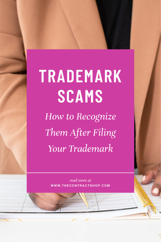 how to recognize trademark scams after filing your trademarks