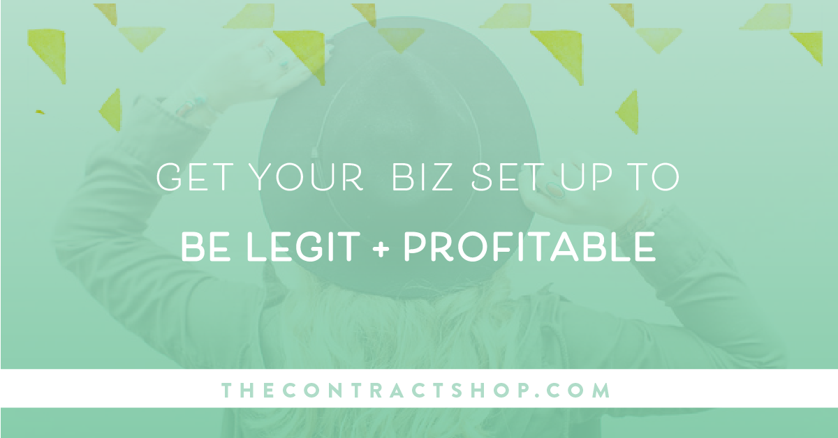 how to legally set up your business