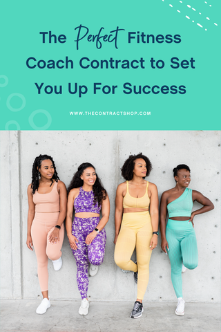 The perfect fitness coach contract to set you up for success