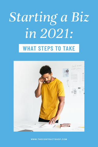 Starting A Biz In 2021: What Steps To Take