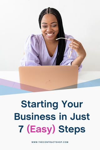 Starting Your Business in Just 7 Easy Steps