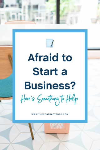 Afraid to start a business? Here's something to help.