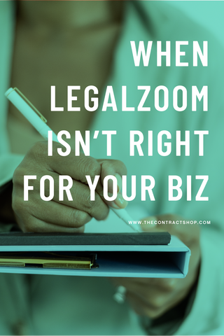 when legalzoom isn't right for your biz