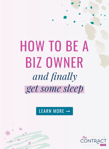 "How to be a biz owner and finally get some sleep | The ContractShop | In order to let my gray matter push the ""snooze"" button on my anxiety alarm and actually get sh&t done, I use an enhanced ""brain dump"" strategy. Wanna know my secrets? 